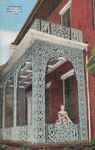 A Romance In Old Lace Mobile Alabama