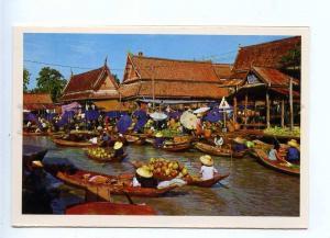 196746 Thailand Floating Market Wat-sat near Bangkok