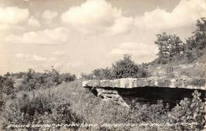 Branson Missouri~Sammy's Lookout on Dewey Bald~Shepherd Hills~1940s RPPC