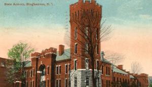 NY - Binghamton, State Armory
