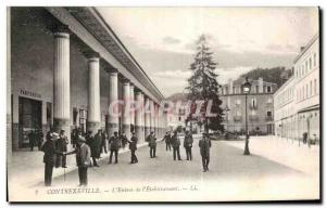 Old Postcard Contrexeville The Entrance of Perfumer Establishment