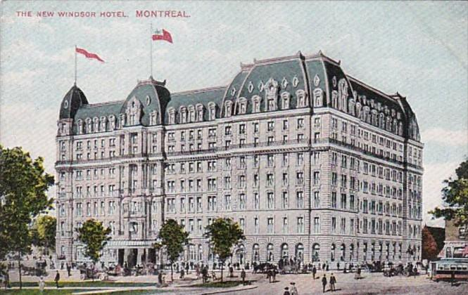 Canada Montreal The New Windsor Hotel
