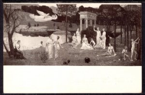 The Scared Grove,Chavannes Painting