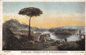 Childe Harold's Pilgrimage, by J.M.W. Turner 1906
