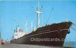 North Carolina State Port Morehead City, North Carolina USA Ship Postcard Pos...