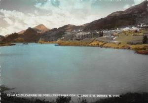 10042    Italy Belluno   Calalzo Di Cadore, Panorama Con Lago Dubeia