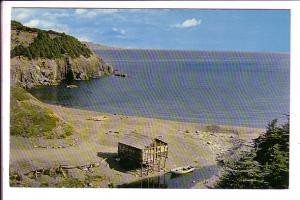 Middle Cove, near St. John's, Newfoundland, Photo Tooton's, Fishing Hut