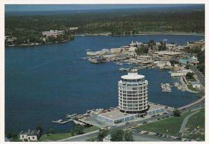 Birdseye View, Inn of the Woods Hotel, Kenora, Ontario, Canada, 50-70´s