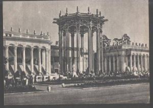 104043 USSR Exhibition Moscow pavilion Uzbeck SSR Old PC