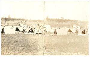 232 South Dakota Custer   Soldiers on  Manuvers from  Fort Robinson  RPC