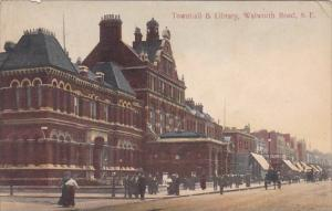 England London Townhall & Library Southwark 1910