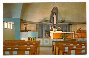 L'Interieur de la Chapelle Mariale, Lac Bouchette, Co. Roberval, Province of ...
