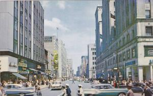 Street View , Montreal , Quebec , Canada , 50-60s