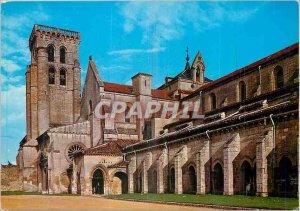 Modern Postcard Burgos Royal Monastery of Las Huelgas