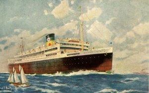 Moore-McCormack Lines - SS Brazil, SS Uruguay, SS Argentina