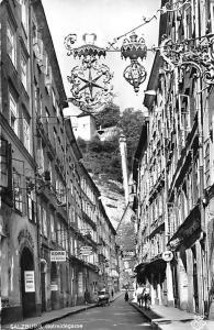 Salzburg Getreidegasse Street Shops Hotel Promenade Mobel
