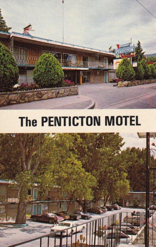 PENTICTON, British Columbia, Canada, 1950-1960s; The Penticton Motel