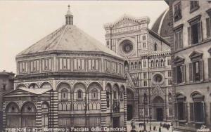 Italy Firenze Battistero Facciata della Cattedrale