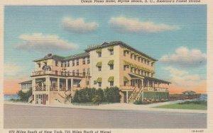 MYRTLE BEACH, South Carolina, 1930-40s; Ocean Plaza Hotel, America's Finest ...