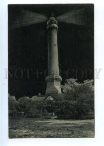 173858 POLAND Swinoujscie LIGHTHOUSE Vintage RPPC