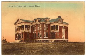 Amherst, Mass, M. A. C. Dining Hall
