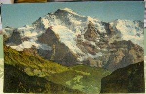 Switzerland Interlaken Jungfrau - posted 1962