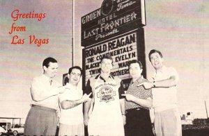 Greetings From Los Vegas,Ronald Reagan BIN