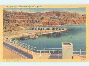 Linen DAM SCENE Twin Falls Idaho ID G6450