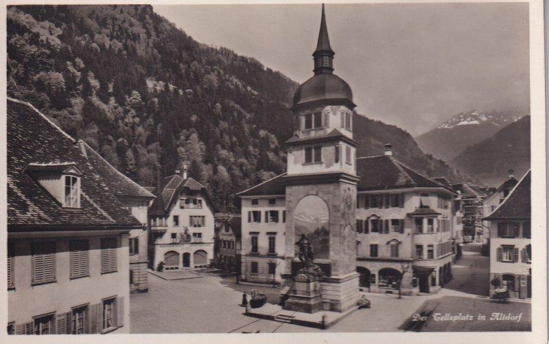 RP; SWITZERLAND, 1920-1940s; Das Tellsplatz In Altdorf