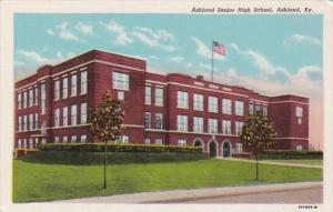 Ashland Senior High School Ashland Kentucky Curteich