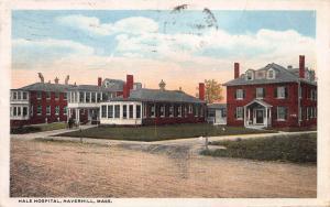Hale Hospital, Haverhill, Massachusetts, Early Postcard, Used in 1917