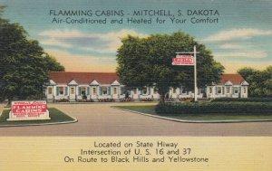 MITCHELL , South Dakota , 30-40s; Flamming Cabins