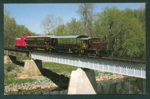 WALKERSVILLE SOUTHERN RAILROAD Monocacy River Bridge Maryland Train MD Postcard