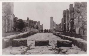 RP, The Avenue Of Abundance, Pompeii (Campania), Italy, 1920-1940s