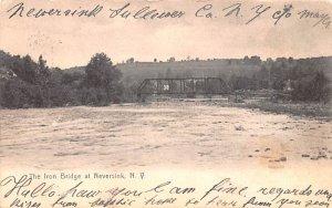 Iron Bridge Neversink, New York Postcard
