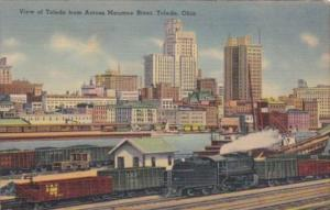 Ohio View Of Toledo From Across Maumee River