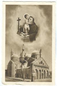 Italy, Messaggero di S. Antonio, Basilica del Santo, Padova, unused Postcard