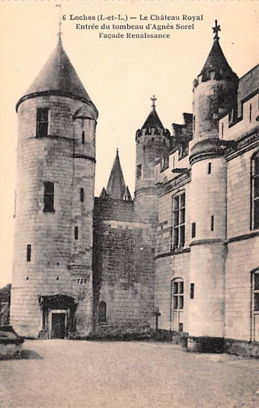 Le Chateau Royal Loches France Unused