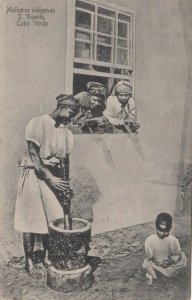 Mulheres indigenas - S. Vicente , Cabo Verde , 00-10s