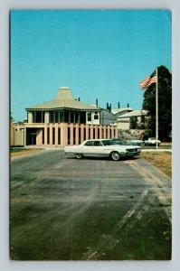 Milton WV, Blenko Glass Company Visitor Center, Chrome West Virginia Postcard