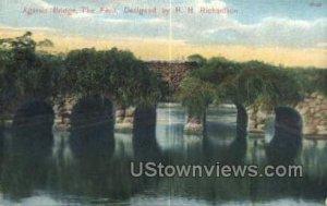 Agassiz Bridge, The Fens - Boston, Massachusetts MA