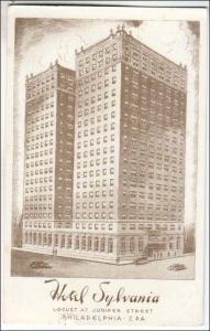 Hotel Sylvania, Philadelphia PA