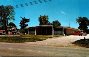 Illinois Mt Sterling Land Of Lincoln Motel