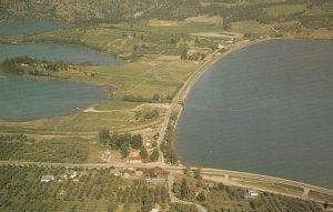 OYAMA , B.C., Canada , 1950-60s ; Orchard Tent Camp