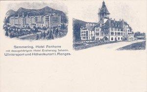 SEMMERING, Lower Austria, Austria, 1900-1910's; Hotel Panhans