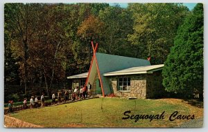 Hammondsville AL Visitors Coming & Going @ Sequoyah Caves~A-Frame~Tepee 1967
