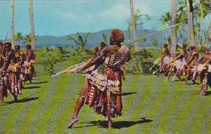 Spear Dance , Fiji , 40-60s