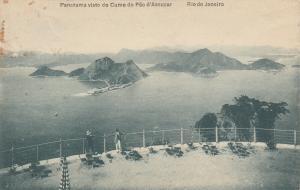 RIO DE JANEIRO, Brazil, 00-10s; Panorama visto do Cume do Pao d'Assucar