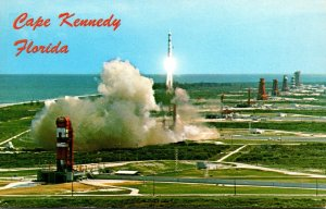 Florida John F Kennedy Space Center NASA Aerial View Showing Martin's Ti...