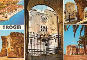 Croatia Trogir General view Town Hall Castle